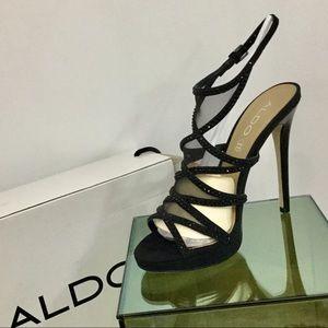 "Aldo Stunning NEW-in-Box ""Holiday Glam"" Heels- 8.5"